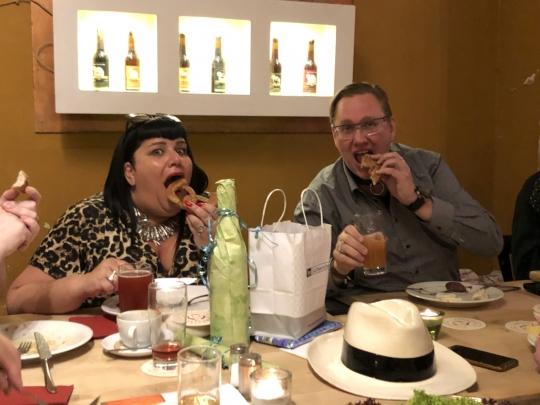 Eva und Dirk schmeckt es