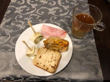 Resteessen am Samstag, Ananasbrot und andere leckere Dinge