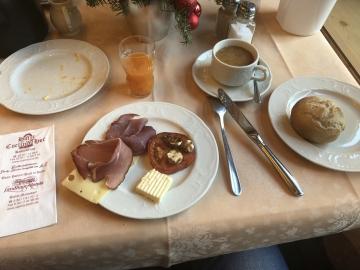 Frühstück am Freitag