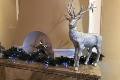 Weihnachtsdeko im Hotel