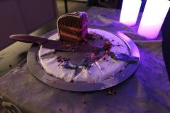 die Reste der Torte von Daggi