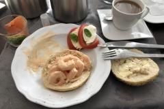 Frühstück am Sonntag im Hotel