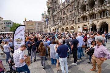 auf dem Marienplatz