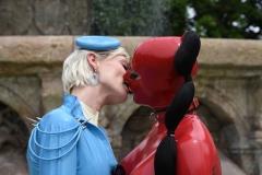 ein Kuss in Ehren :-)