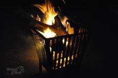 Feuer im Hof