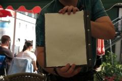 Daniel und sein Büttenpapier