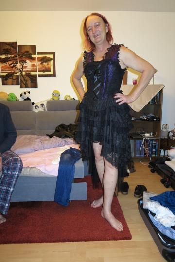 das neue Gotikkleid von Susi