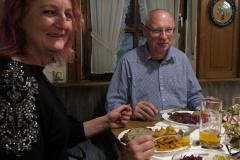 Abendessen in der guten Quelle