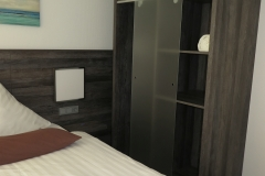 die neuen Einzelzimmer im Designhotel Kamen, Haus 2