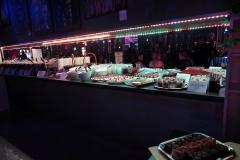 das Buffet zur Rubber Night