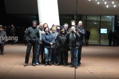 Gruppenbil in der Elbphilharmonie