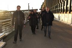 Treffen im Hafen