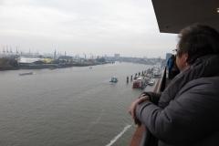 Blick von der Elbphilharmonie