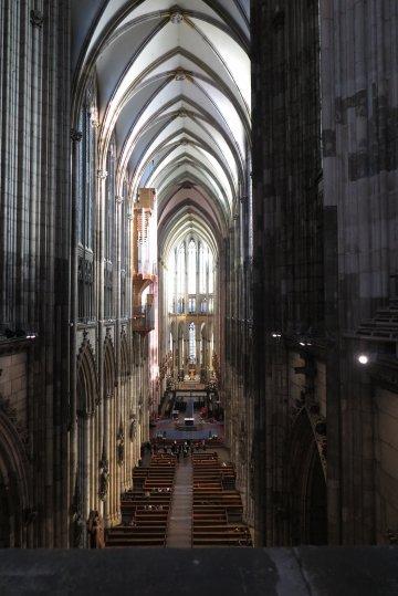 Blick ins Dom-Innere