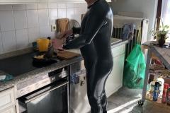 Frühstückmachen am Karfreitag