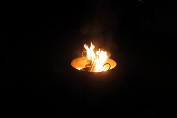 romantsiches Feuerchen