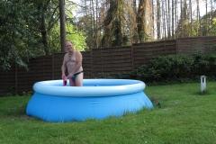 im Pool ist es auch schön