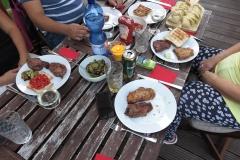 Abendessen am Donnerstag