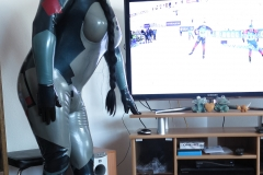 SpaceCat likes Wintersports