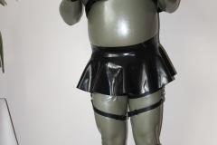 LatexCrazy Kondomsuit mit Harness