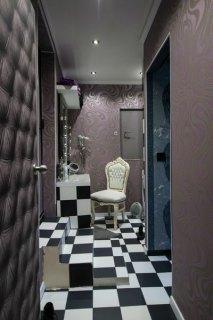 Bereich der Toilette