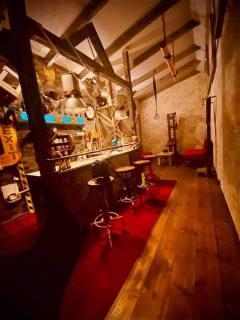 die Bar im Shootingraum 2