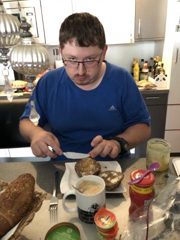 Frühstück am Samstag