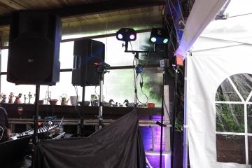 Musikanlage der Party