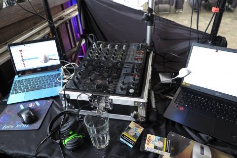 Musikanlage für die Party von Ingo