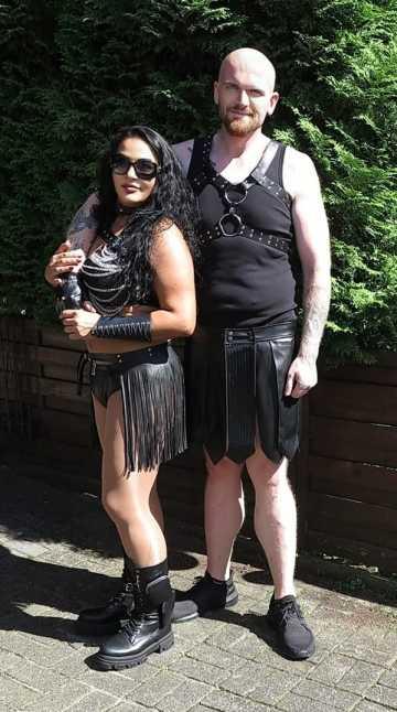 Lady Aradia und Kevin