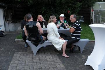 Party am Abend