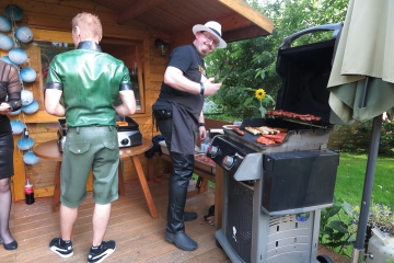 die Grillmeister Daniel und Andy