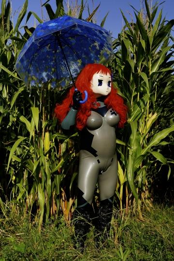 Majikku Kig und ein Schirm