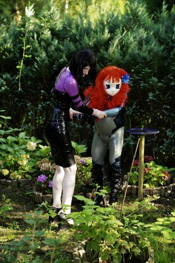 Majikku Kig und Yuriko Yumeno