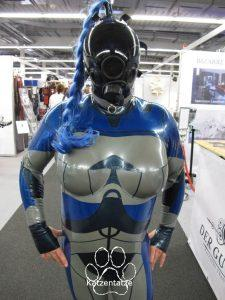 Jupiter Ascending Plugsuit by Fantastic Rubber, with MSA Millenium mask