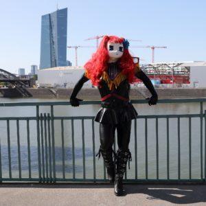 Majikku Kig im Osthafen Frankfurt