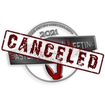 Infos zur Absage des Easter Fetish Meeting 2021 – Events