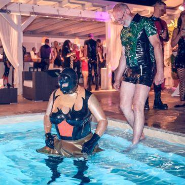 Die Fetish Zoo Summer Edition 2018 in Dresden- jede Menge netter Tiere auf einer prima Sommerpool-Party
