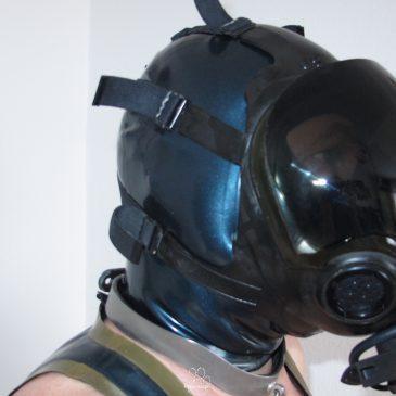 auf zu neuen Shooting-Abenteuern, meine MSA Millenium Maske ist da
